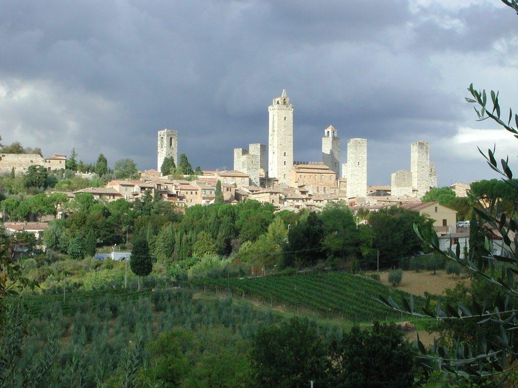 San Gimignano italie vacances Casher